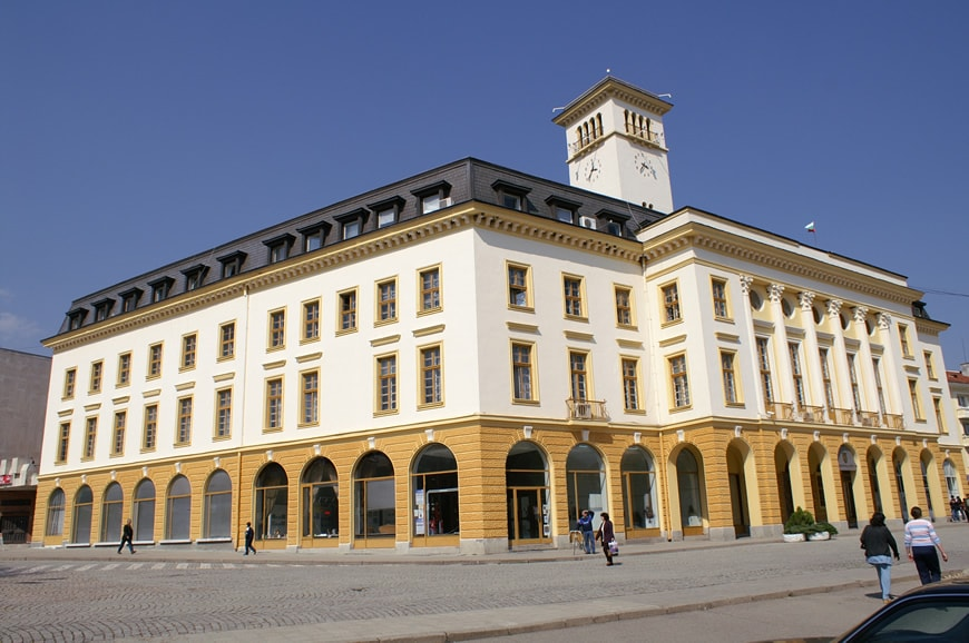 Община Сливен - зала