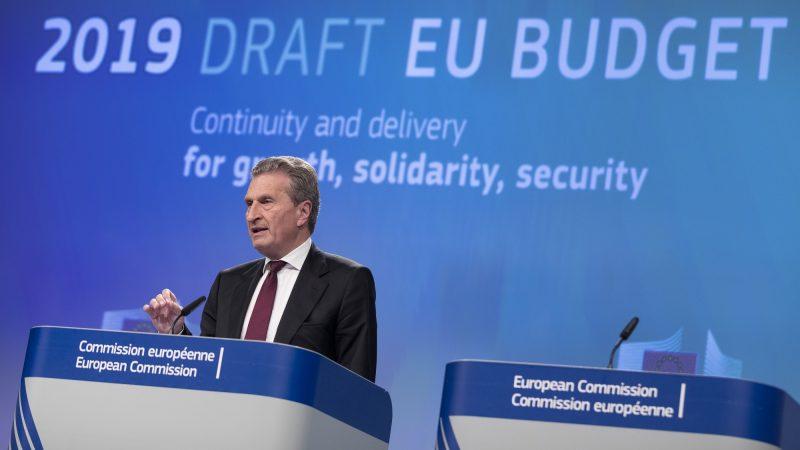 Draft EU Budget 2019