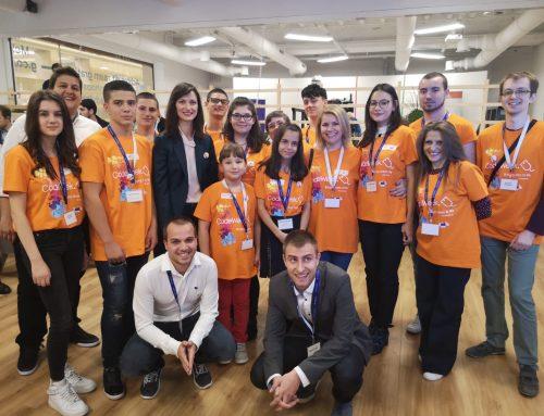 За първи път: Млади програмисти представиха България на Европейската седмица на програмирането в Брюксел по покана на българския еврокомисар Мария Габриел