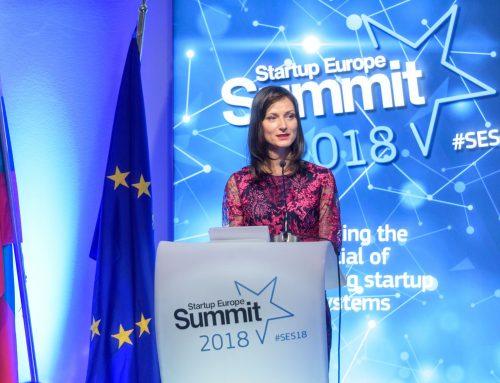 Реч на комисар Мария Габриел пред участниците на Startup Europe Summit в София