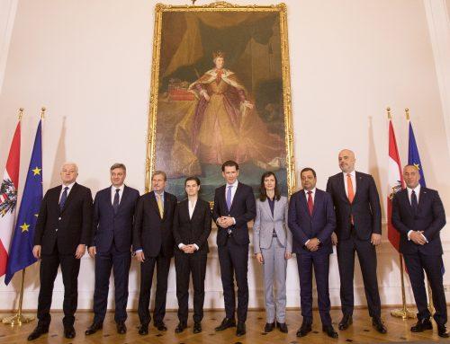 Мария Габриел, австрийският канцлер Курц и премиерите на Западните Балкани: Цифровизацията е мост, който ни сближава