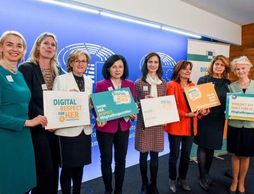 Комисар Мария Габриел стартира кампания за нулева толерантност към онлайн насилието над жените