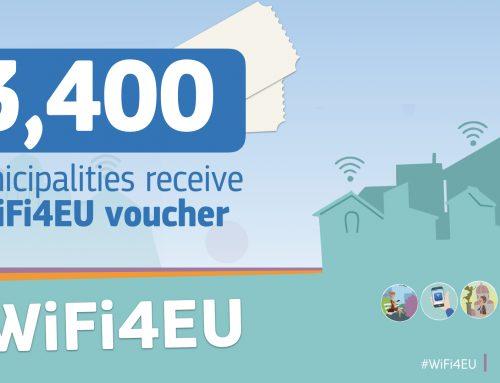 #WiFi4EU: Нови 63 общини в България с европейско финансиране на безжичен интернет на обществени места