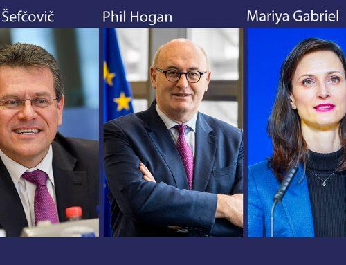 Изслушванията на комисари в понеделник: Шефчович, Хоган, Габриел