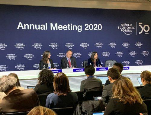 Мария Габриел в Давос: Търсенето на общи решения между образованието, науката и бизнесa може да бъде солидна база в борбата с климатичните промени