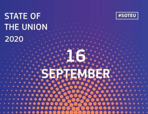 #SOTEU: Годишната Реч за състоянието на Съюза през 2020 г.