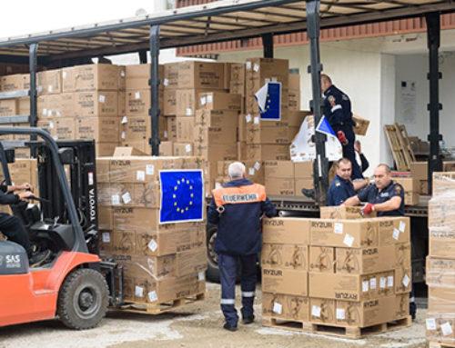 ЕС отпуска 150 милиона евро за транспортиране на основни медицински изделия