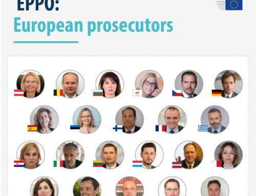 Новите европейски прокурори полагат клетва пред Съда на Европейския съюз